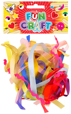 Fun Craft Kit Ribbons 15 Pieces Assorted Colours