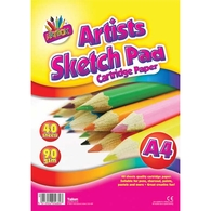 A4 40 Sheets Artists Sketch Pad