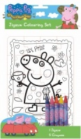 Peppa Pig Colour Your Own Jigsaw Set