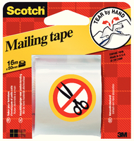 3M Scotch Packaging Tape Hand Tearable 50mm x16m E.5016C