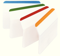 3M Post-it Durable Filing Tab Flat Pk 24 686-F1