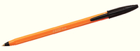 Bic Orange Fine Ball Point Pen Black (Pk 20) 1199110114