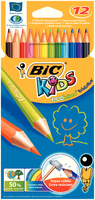 Bic Kids Colouring Pencil Wallet of 12 829029