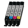 Canon CLI-571 Cyan/Magenta/Yellow/Black Inkjet Cartridges Multi Pack 0386C005 CO63182