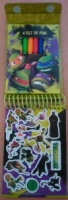 Teenage Mutant Ninja Turtles Mini Sketch Book Set