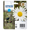 Epson Daisy 18 Series T1802 Cyan Ink Cartridge (Yield 180 Pages) RS Blister for Expression Home XP-102 Inkjet Printer EP18024