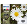 Epson Daisy 18 Series T1806 Multi Pack 4 Colour Ink Cartridges (Black/Cyan/Magenta/Yellow) for Expression Home XP-102 Inkjet Printer EP18064*****