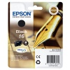 Epson 16 T1621 Black Ink Cartridge for Epson WorkForce WF-2010DW/WF-2510WF/WF-2520WF/WF-2530WF/WF-2540WF (Pen & Crossword) EP62140