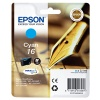 Epson 16 T1622 Cyan Ink Cartridge (3.5ml) Non Tagged for Epson WorkForce WF-2010DW/WF-2510WF/WF-2520WF/WF-2530WF/WF-2540WF (Pen & Crossword) EP62240