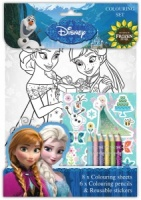 Frozen Fever Colouring Set