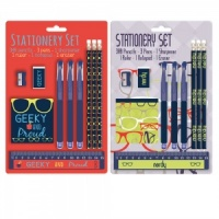 The Geek Range - Stationery Set (Choose from Nerdy or Geeky)