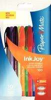 Papermate Inkjoy 100 Stick Ball Pen Assorted