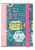 Stamp Design A4 Portfolio Case / Document Holder