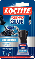 Loctite Super Glue With Brush 5gm 9150 738494