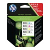HP 920XL Combo Pack Ink Cartridges (Black/Cyan/Magenta/Yellow) (Yield Black: 1200 Pages/Yield Colour: 700 Pages) for OfficeJet Printers HPC2N92AE