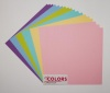 12x12 inch Light Colors No1 Heavyweight 270gsm Cardstock Bundle 18 Sheets