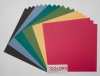 12x12 inch Dark Colors No.1 Heavyweight Cardstock Bundle 270gsm 18 sheets