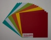 12x12 inch Festive Colors Heavyweight 270gsm Cardstock Bundle 18 sheets