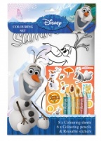 Olaf Frozen Colouring Set