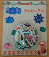 Peppa Pig Christmas Sticker Pod