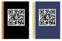 QR A5 Twinwire Notebook (Choose from 2 Colours)