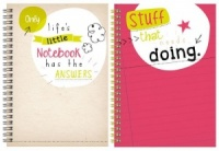 Slogan A5 Twinwire Notebook (Choose from 2 Designs)