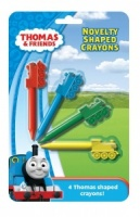 Thomas & Friends Pack of 4 Novelty Shaped Crayons