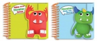 Monsters Little Square Notebook 100 Sheets (Choose from 2 Designs)