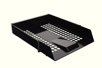 Plastic Letter Tray Black WX10050A
