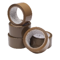 Packaging Tape 50mm x 66m Buff WX27010 (Pack of 6 Rolls)