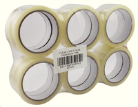 Clear Tape 24mmx66m WX27017 (Pack of 12 Rolls)