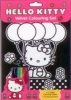 Hello Kitty Velvet Colouring Set