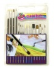 15 Piece Wooden Handle Paint Brushes